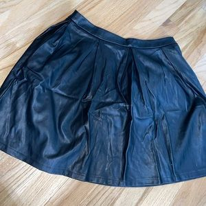 Forever 21 Leather Skirt - Size M